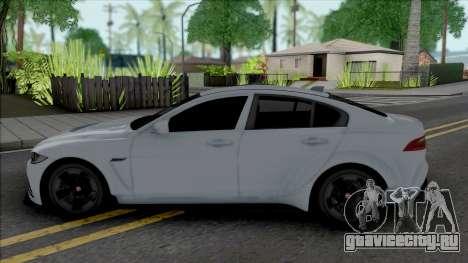 Jaguar XE SV [IVF ADB VehFuncs] для GTA San Andreas