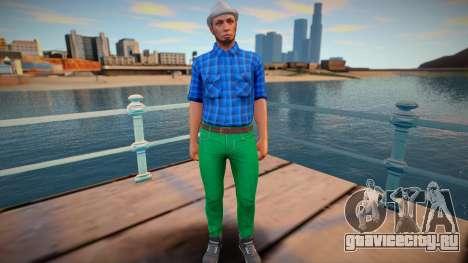 Dude 24 from GTA Online для GTA San Andreas