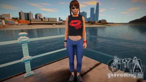 DOA Leifang Fashion Casual V2 для GTA San Andreas