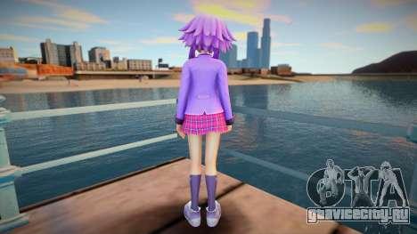 Megatagmesion Neptunia Skin v2 для GTA San Andreas
