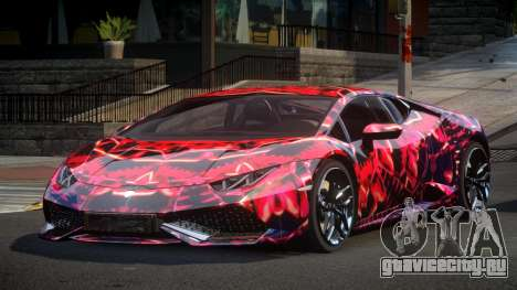 Lamborghini Huracan GST S4 для GTA 4