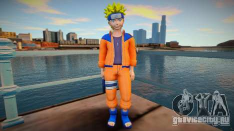 Naruto Unzipped Shirt для GTA San Andreas