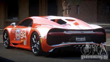 Bugatti Chiron GS Sport S10 для GTA 4