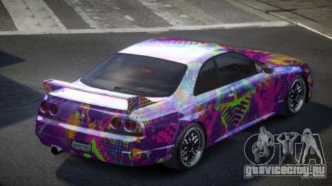 Nissan Skyline R33 US S6 для GTA 4