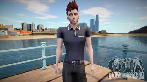 Sims 4 Man Skin для GTA San Andreas