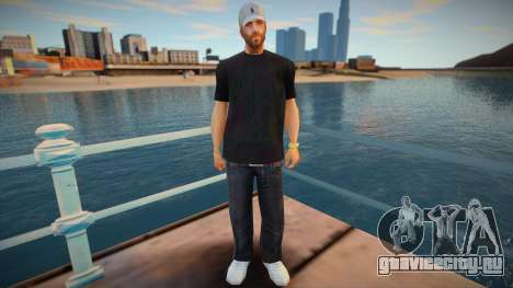 Andre with Polo Cap для GTA San Andreas