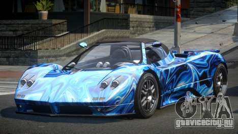Pagani Zonda BS-S S8 для GTA 4