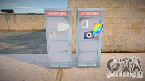 4K Telephone Booth для GTA San Andreas