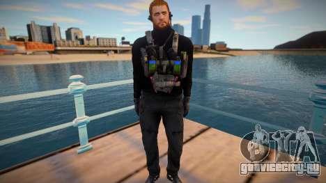 Chris Redfield Tactical(from Resident Evil Villa для GTA San Andreas