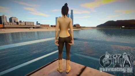 Haruka Sawamura - Yakuza 5 (Topless) для GTA San Andreas