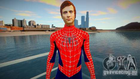 Spiderman 2007 (Red-unmask) для GTA San Andreas