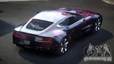Aston Martin BS One-77 S5 для GTA 4