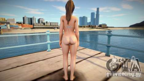 Hitomi (Pistachio) from Dead Or Alive Xtreme Ven для GTA San Andreas