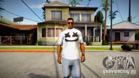 New T-Shirt - tshirtheatwht для GTA San Andreas