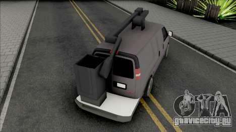 GMC Savana 2500 Utilty Van для GTA San Andreas