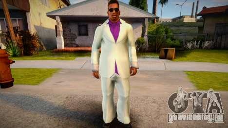 Lance Vance white suit for CJ для GTA San Andreas