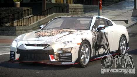 Nissan GT-R GS-S S3 для GTA 4