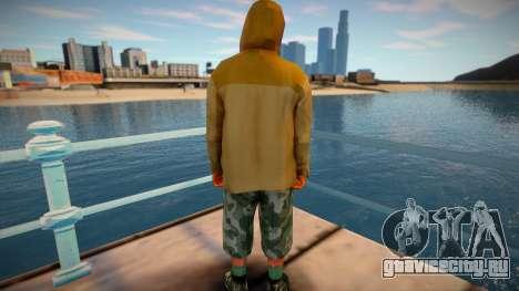 Скин из GTA V v3 для GTA San Andreas