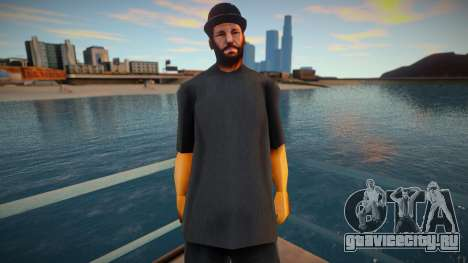 Str3sU ComputerS Skin - Black Style для GTA San Andreas