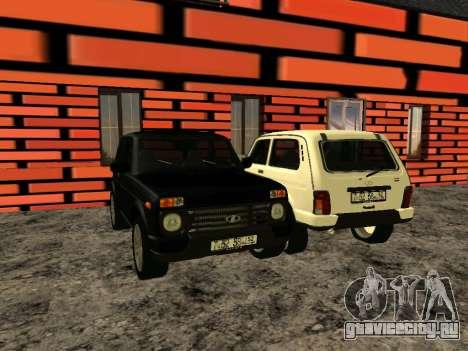 Lada Urban 4x4 для GTA San Andreas