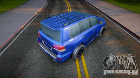 Lexus LX 570 Invader (good model) для GTA San Andreas