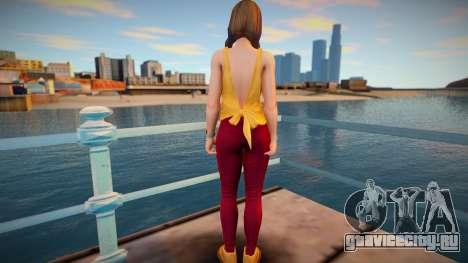 DOA Hitomi Fashion Casual V2 для GTA San Andreas