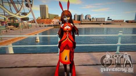 Princess Tosatsu (MMD) для GTA San Andreas