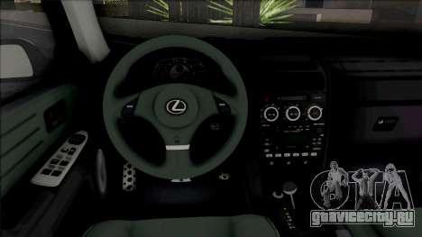Lexus IS300 (SA Lights) для GTA San Andreas