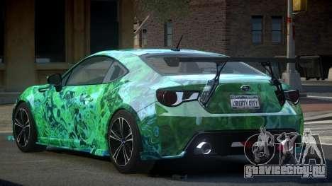Subaru BRZ SP-U S8 для GTA 4