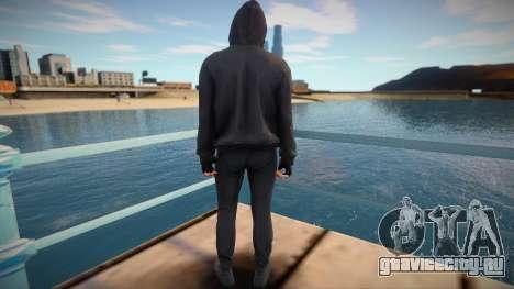 Young thug from GTA V для GTA San Andreas