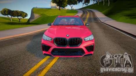BMW X5M Competition 2020 для GTA San Andreas