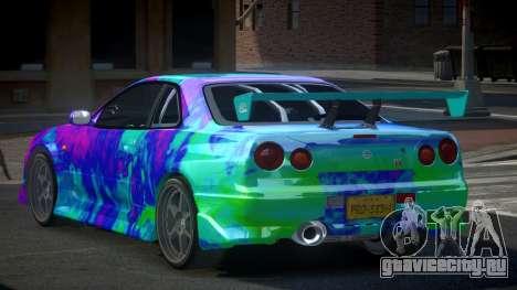 Nissan Skyline R34 PSI-S S1 для GTA 4