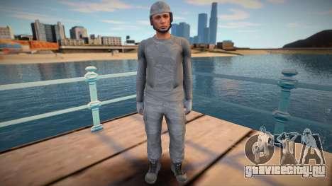 Male helmet from GTA Online для GTA San Andreas