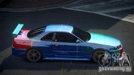 Nissan Skyline R34 PSI-S S9 для GTA 4