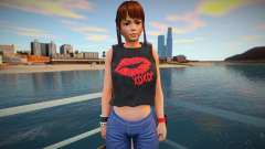 DOA Leifang Fashion Casual V1 для GTA San Andreas