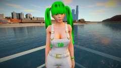 Lei Fang as a Grove Street Member для GTA San Andreas