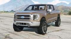 Ford F-150 XLT SuperCrew 2021 для GTA 5