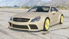 Mercedes-Benz SL 65 AMG Black Series (R230) 2008〡add-on v1.2 для GTA 5