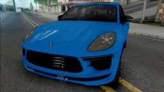 Porsche Macan Turbo Blue