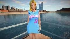 DOA Helena Douglas Fashion Casual V1 Miami Heat для GTA San Andreas