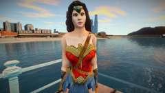 Wonder Woman (normal skin) для GTA San Andreas