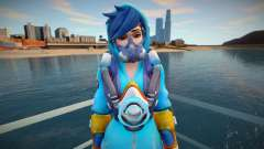 Tracer (Graffity) from Overwatch для GTA San Andreas