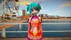 PDFT Hatsune Miku Heart Hunter для GTA San Andreas
