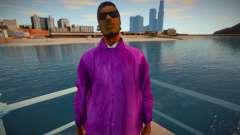 New Ryder Balla Thief Costume Skin для GTA San Andreas