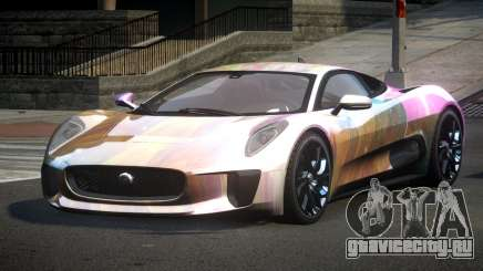 Jaguar C-X75 SP-U S6 для GTA 4