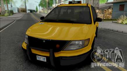 GTA IV Schyster Cabby для GTA San Andreas