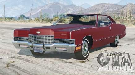 Mercury Marquis Brougham 2-door hardtop 1971〡add-on для GTA 5