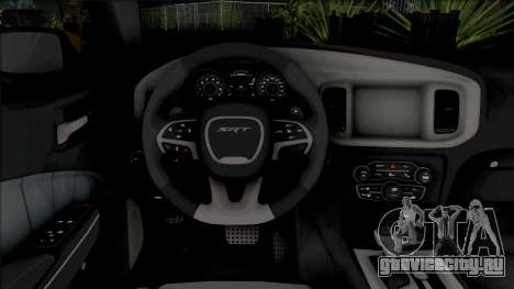 Dodge Charger SRT Hellcat 2015 Tuned для GTA San Andreas