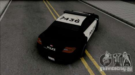 Vapid Torrence Police San Fierro v2 для GTA San Andreas