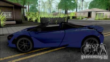 McLaren 720S Roadster для GTA San Andreas